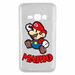 Чехол для Samsung J1 2016 Супер Марио - FatLine