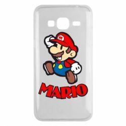 Чехол для Samsung J3 2016 Супер Марио - FatLine