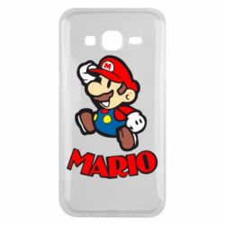 Чехол для Samsung J5 2015 Супер Марио - FatLine