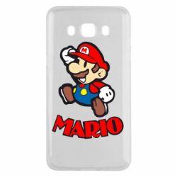 Чехол для Samsung J5 2016 Супер Марио - FatLine