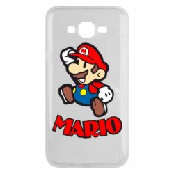 Чехол для Samsung J7 2015 Супер Марио - FatLine
