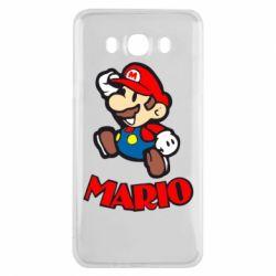 Чехол для Samsung J7 2016 Супер Марио - FatLine