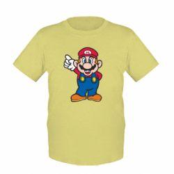 Детская футболка Супер Марио - FatLine
