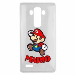 Чехол для LG G4 Супер Марио - FatLine