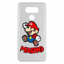 Чехол для LG G6 Супер Марио - FatLine