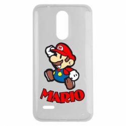 Чехол для LG K7 2017 Супер Марио - FatLine
