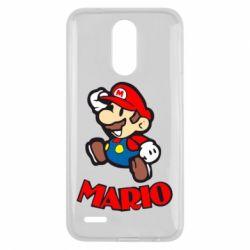Чехол для LG K10 2017 Супер Марио - FatLine