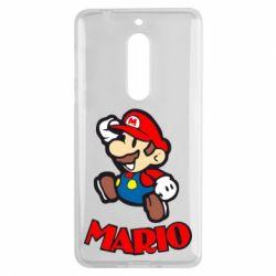 Чехол для Nokia 5 Супер Марио - FatLine