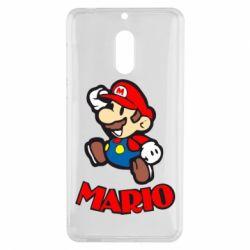 Чехол для Nokia 6 Супер Марио - FatLine