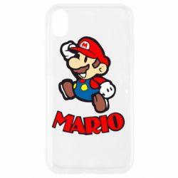 Чехол для iPhone XR Супер Марио - FatLine