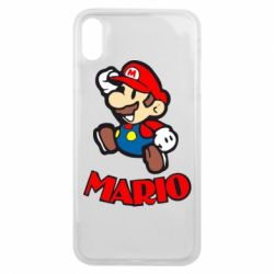Чехол для iPhone Xs Max Супер Марио - FatLine