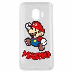 Чехол для Samsung J2 Core Супер Марио - FatLine