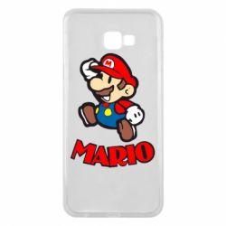 Чехол для Samsung J4 Plus 2018 Супер Марио - FatLine