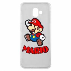 Чехол для Samsung J6 Plus 2018 Супер Марио - FatLine