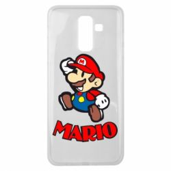 Чехол для Samsung J8 2018 Супер Марио - FatLine