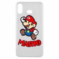 Чехол для Samsung A6s Супер Марио - FatLine