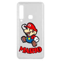 Чехол для Samsung A9 2018 Супер Марио - FatLine