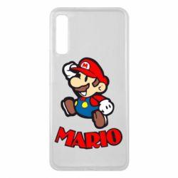 Чехол для Samsung A7 2018 Супер Марио - FatLine
