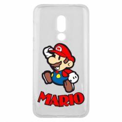 Чехол для Meizu 16 Супер Марио - FatLine