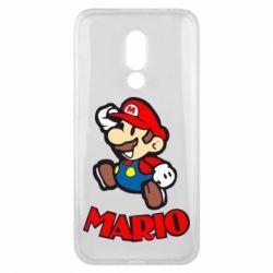 Чехол для Meizu 16x Супер Марио - FatLine
