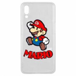 Чехол для Meizu E3 Супер Марио - FatLine