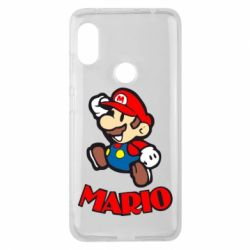 Чехол для Xiaomi Redmi Note 6 Pro Супер Марио - FatLine