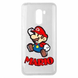 Чехол для Xiaomi Pocophone F1 Супер Марио - FatLine