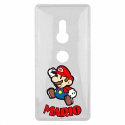 Чехол для Sony Xperia XZ2 Супер Марио - FatLine