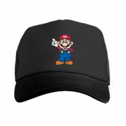 Кепка-тракер Супер Марио - FatLine