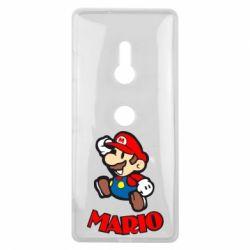 Чехол для Sony Xperia XZ3 Супер Марио - FatLine