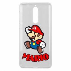 Чехол для Nokia 8 Супер Марио - FatLine