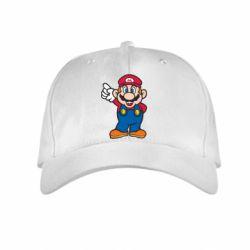 Детская кепка Супер Марио - FatLine