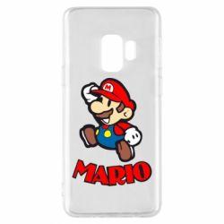Чехол для Samsung S9 Супер Марио - FatLine