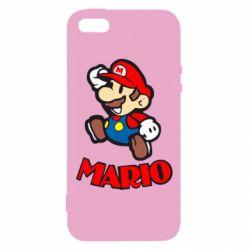 Чехол для iPhone5/5S/SE Супер Марио - FatLine