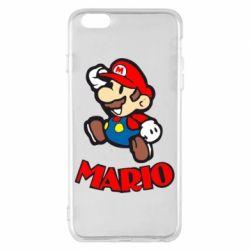 Чехол для iPhone 6 Plus/6S Plus Супер Марио - FatLine
