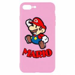 Чехол для iPhone 7 Plus Супер Марио - FatLine