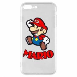 Чехол для iPhone 8 Plus Супер Марио - FatLine