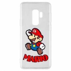 Чехол для Samsung S9+ Супер Марио - FatLine