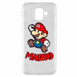 Чехол для Samsung A6 2018 Супер Марио - FatLine