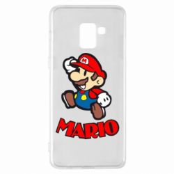 Чехол для Samsung A8+ 2018 Супер Марио - FatLine