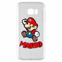 Чехол для Samsung S7 EDGE Супер Марио - FatLine