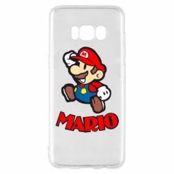 Чехол для Samsung S8 Супер Марио - FatLine
