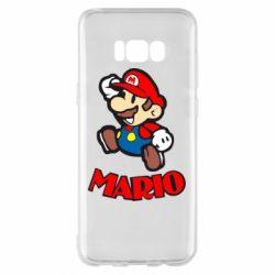 Чехол для Samsung S8+ Супер Марио - FatLine