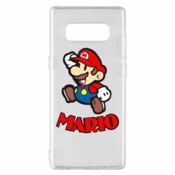 Чехол для Samsung Note 8 Супер Марио - FatLine