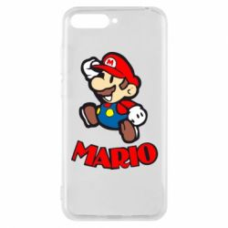 Чехол для Huawei Y6 2018 Супер Марио - FatLine