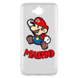 Чехол для Huawei Y6 Pro Супер Марио - FatLine