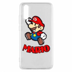 Чехол для Huawei P20 Супер Марио - FatLine