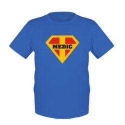 Детская футболка Super Medic - FatLine