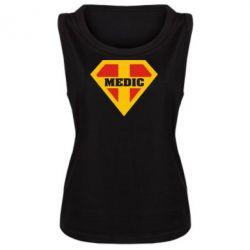 Женская майка Super Medic - FatLine