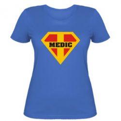 Женская футболка Super Medic - FatLine